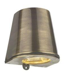 David Hunt Lighting STR1575 Strait 1 light, Antique Brass