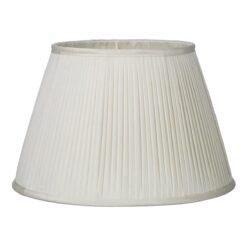 David Hunt Lighting TRI3515- Trinity 1lt Shade, Ivory Slubbed