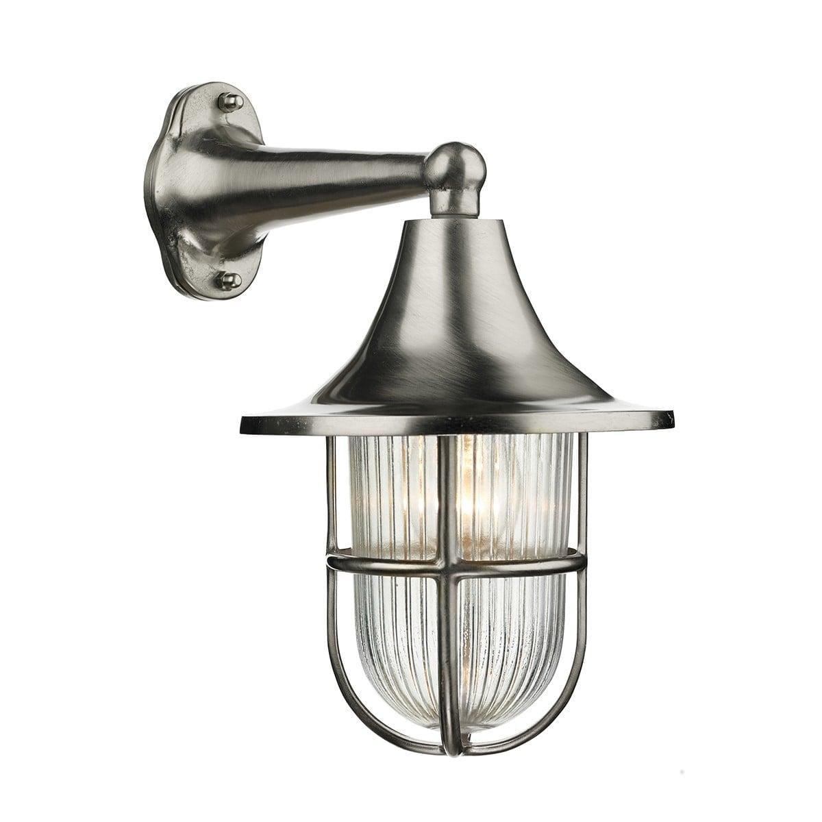 David Hunt Lighting WAD1538 Wadebridge 1 light wall light, Nickel