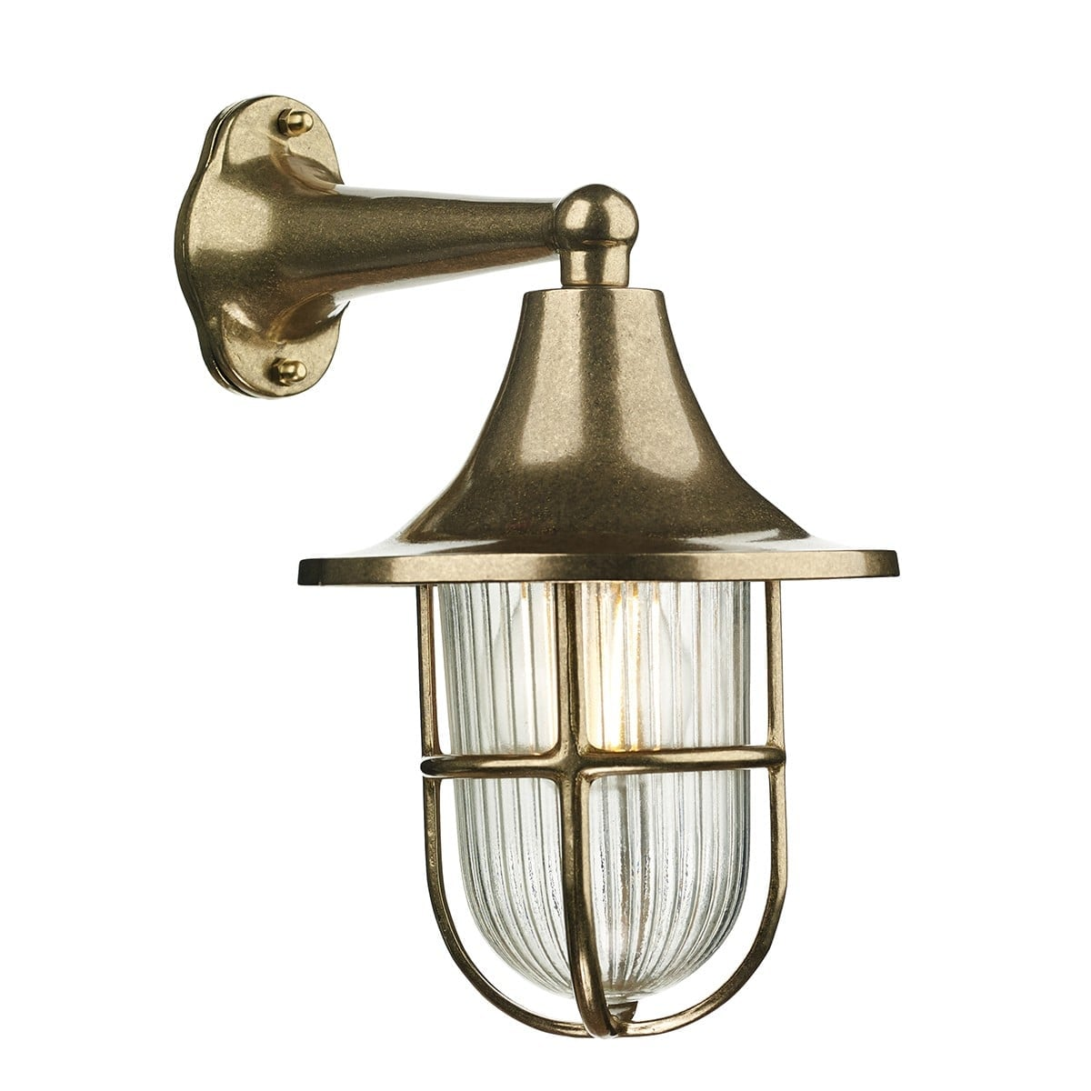 David Hunt Lighting WAD1540 Wadebridge 1 light wall light, Brass