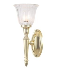 Elstead BATH/DRYDEN1PB Bathroom Dryden1 Polished Brass