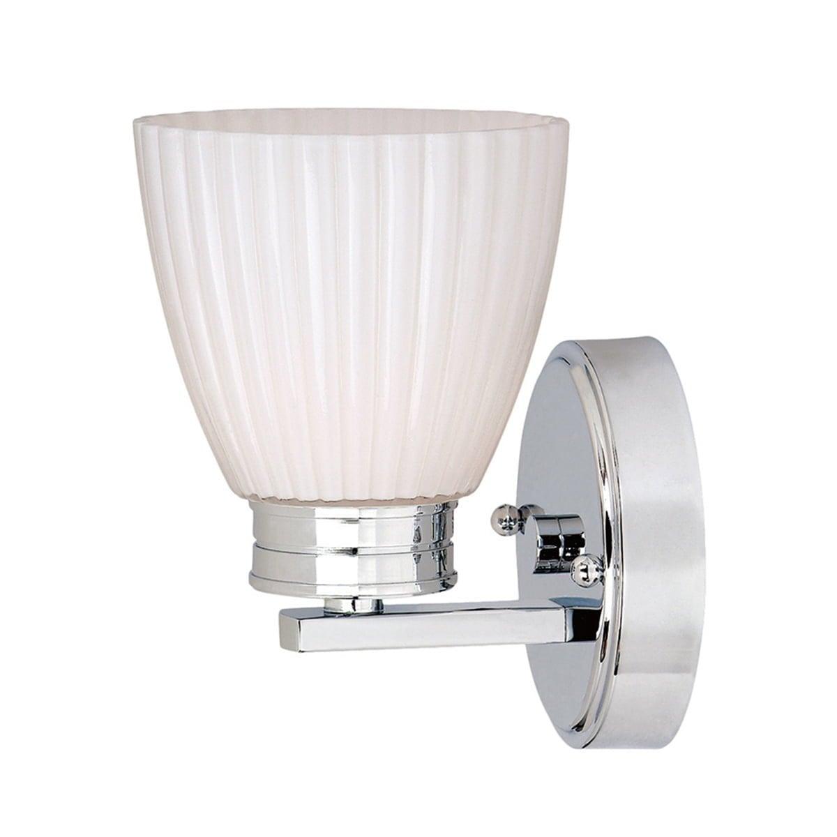 Elstead BATH/WL1 Bathroom Wallingford 1lt Wall Light
