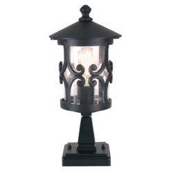 Elstead BL12BLACK Hereford Pedestal Lantern