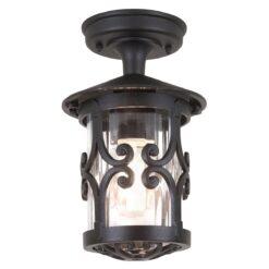 Elstead BL13ABLACK Hereford Ridgid Tube Lantern