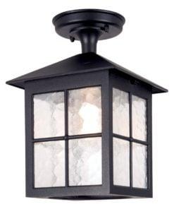 Elstead BL18ABLACK Winchester Porch Lantern