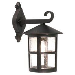 Elstead BL21BBLACK Hereford Porch Chain Lantern