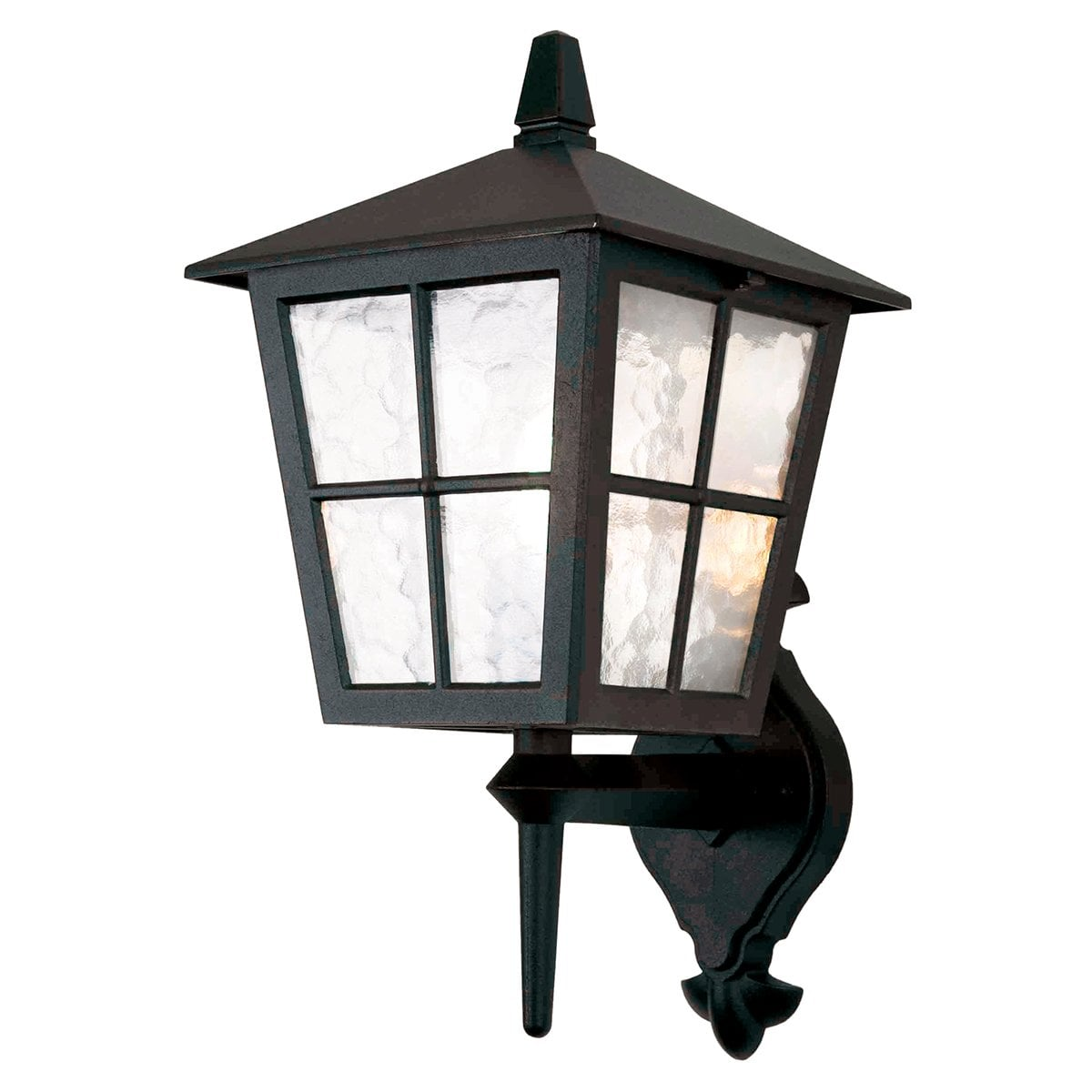 Elstead BL46MBLACK Hereford Wall Down Lantern