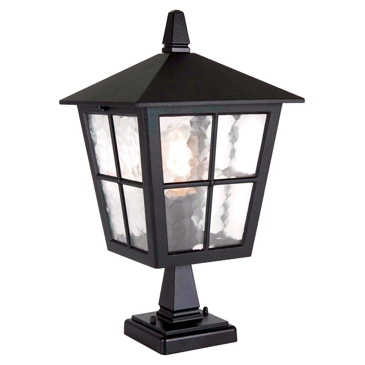 Elstead BL50MBLACK Hereford Porch Chain Lantern