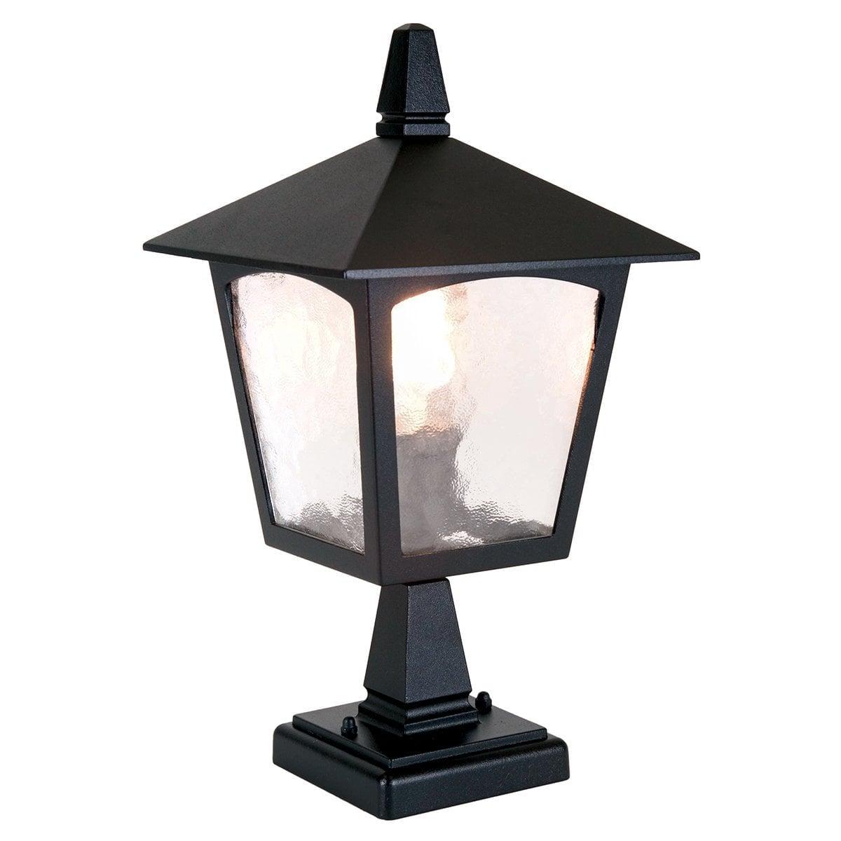 Elstead BL7BLACK York Pedestal Lantern