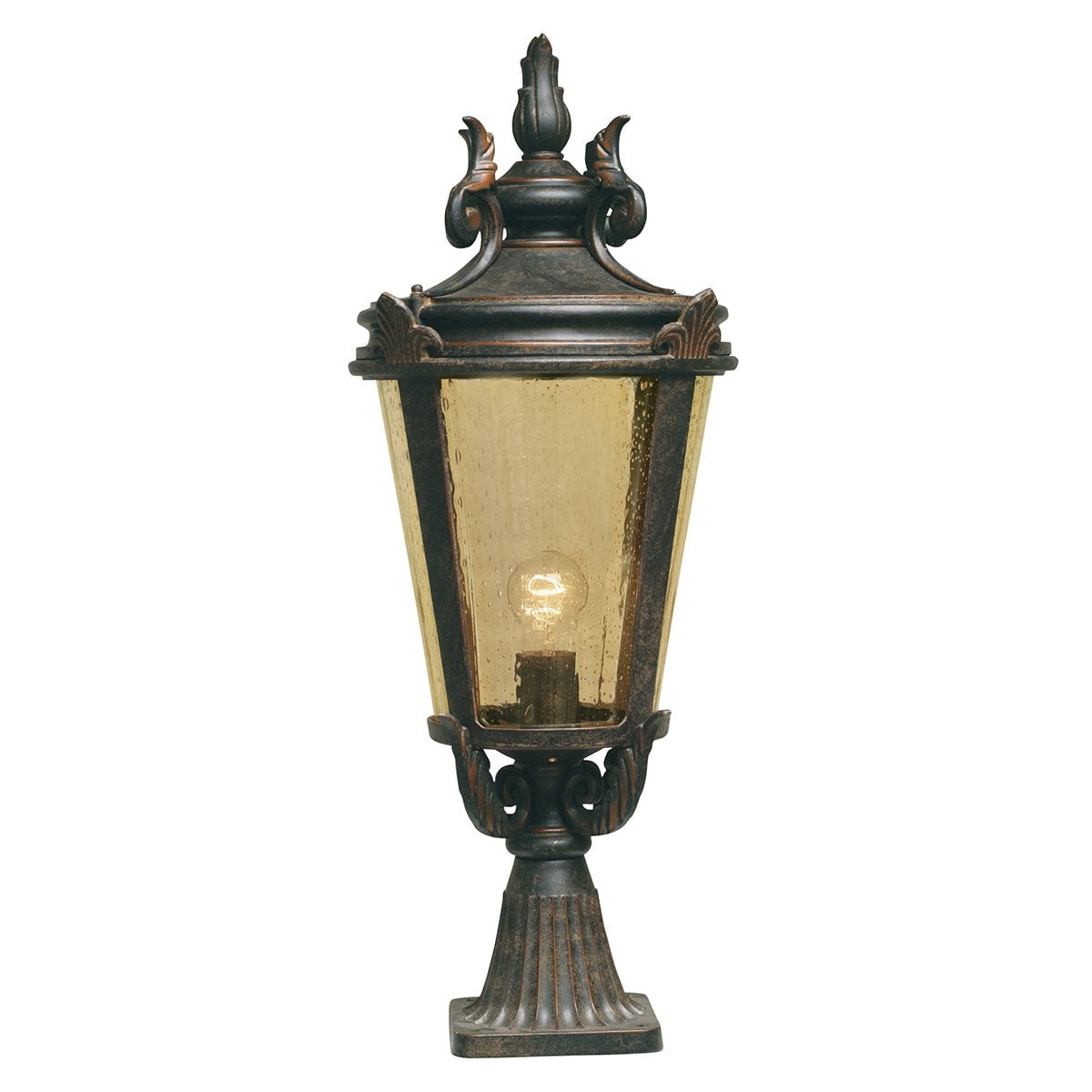 Elstead BT3/L Baltimore Pedestal Lantern Large