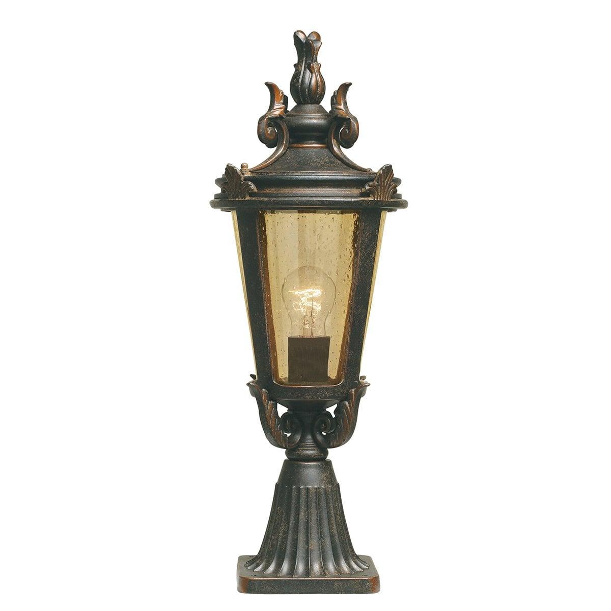 Elstead BT3/M Baltimore Pedestal Lantern Medium