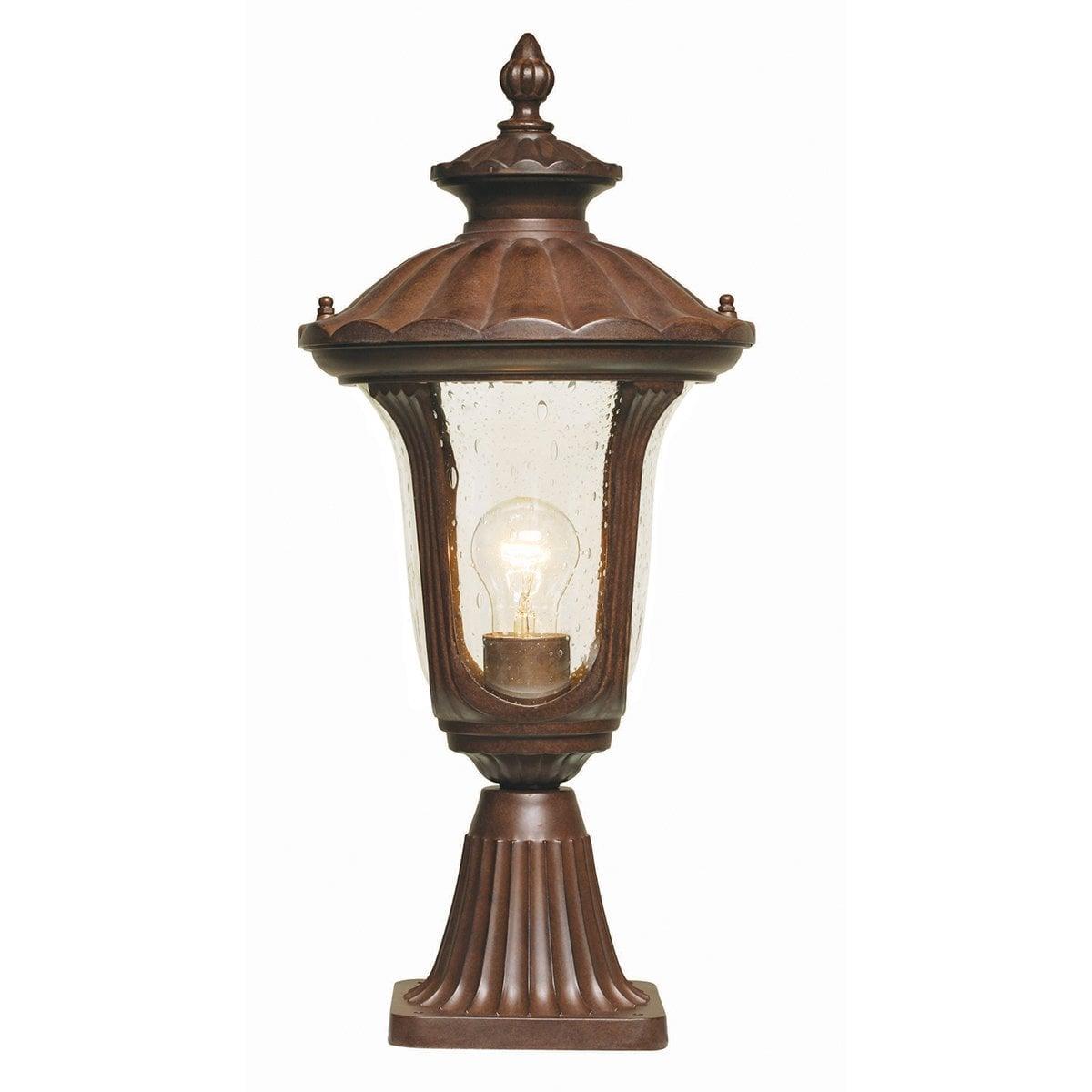 Elstead CC3/S Chicago Pedestal Lantern Small