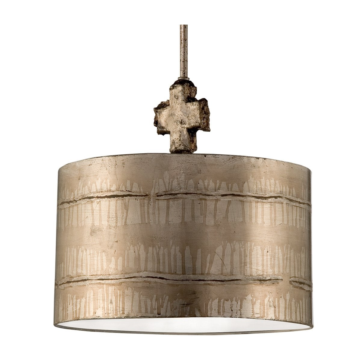 Elstead FB/FRAGMENT-S/PL Fragment Medium Silver Table Lamp