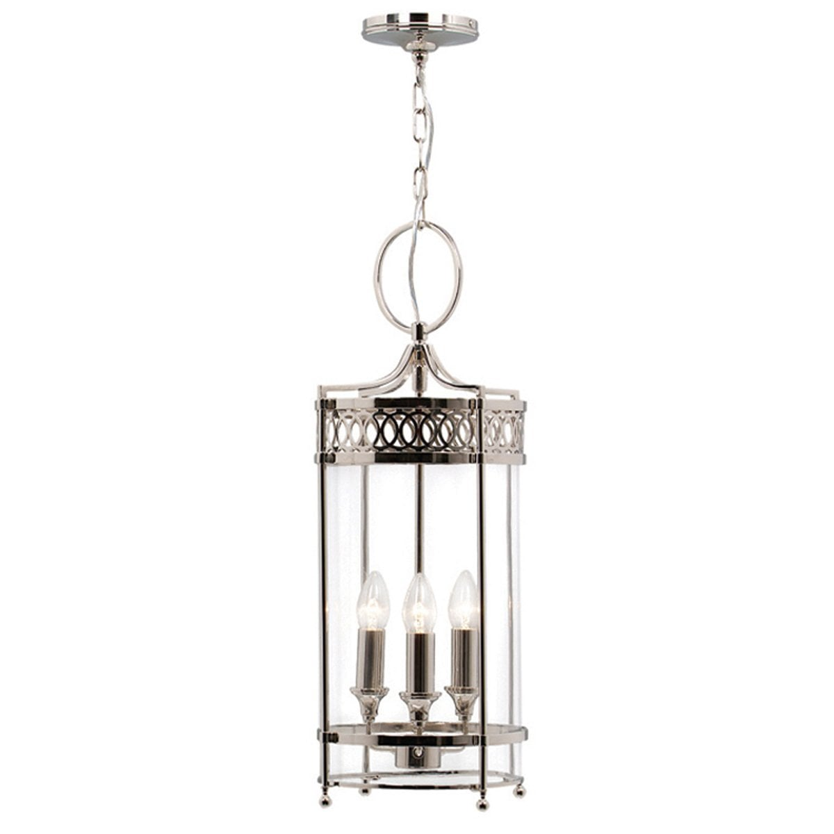 Elstead GH/PPN Guildhall Pendant Polished Nickel