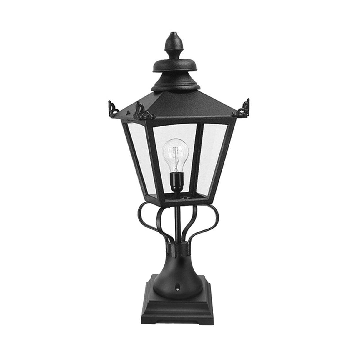 Elstead GN1BLACK Grampian Pedestal Lantern Black