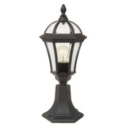 Elstead GZH/LB3 Ledbury Pedestal Lantern