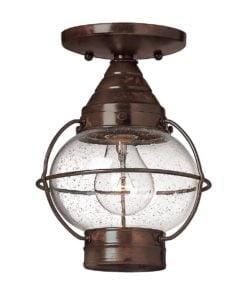 Elstead HK/CAPECOD8/S Capecod 1lt Flush Lantern