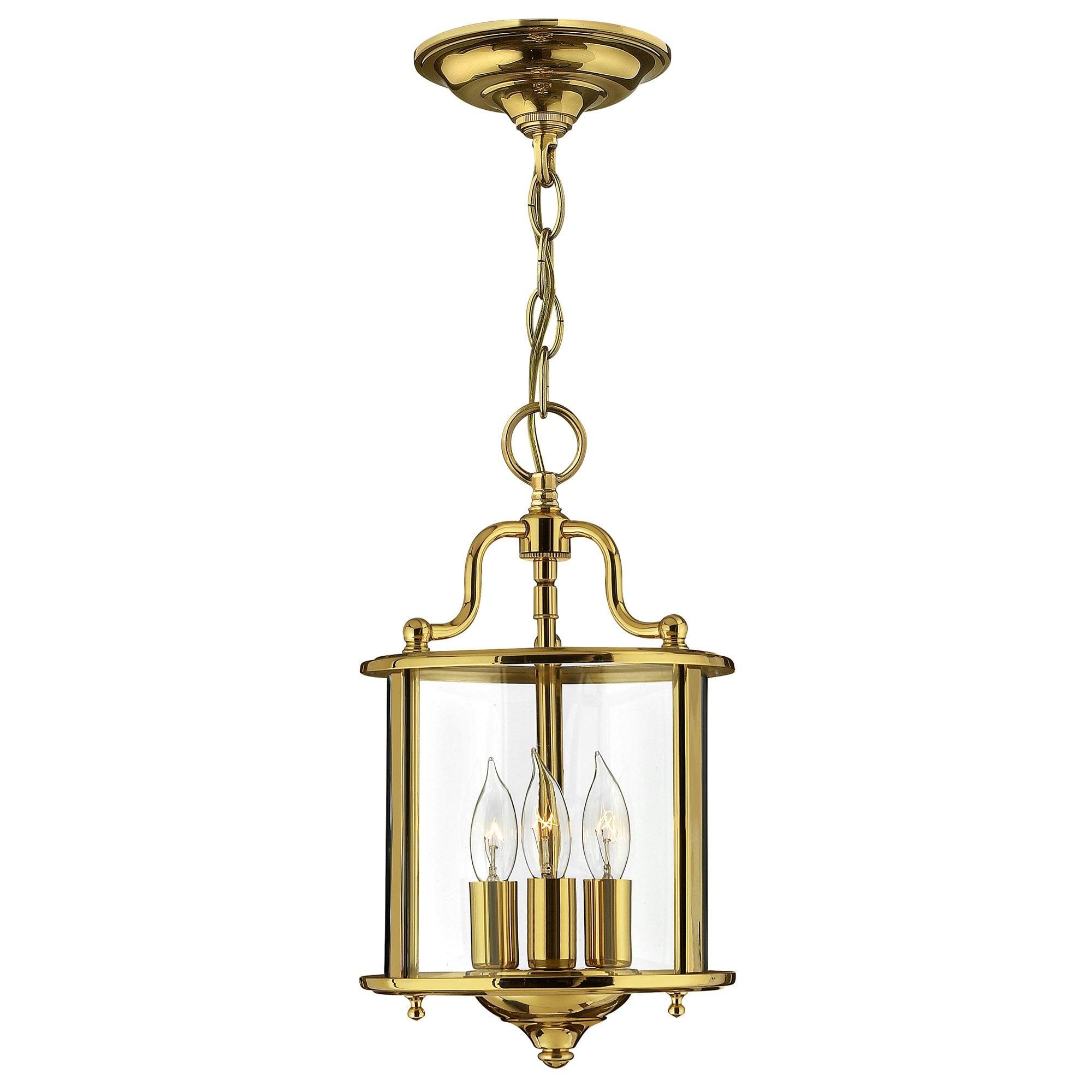 Elstead HK/GENTRY/P/SPB Gentry Small Pendant Polished Brass