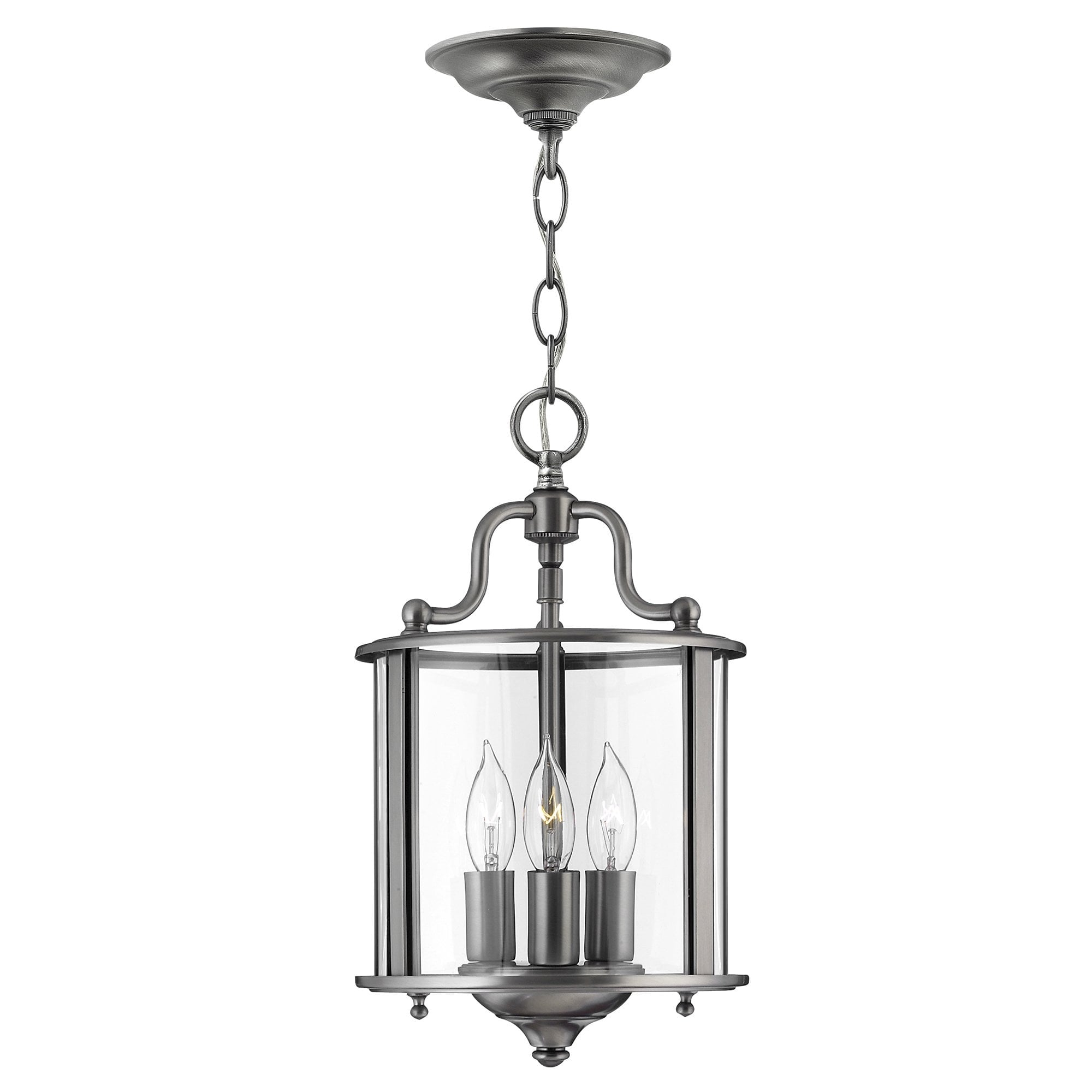 Elstead HK/GENTRY/P/SPW Gentry Small Pendant Pewter