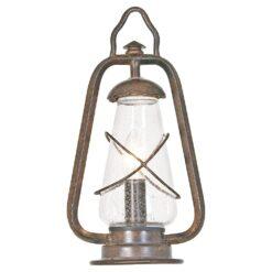 Elstead MINERSPED Miners Pedestal Lantern