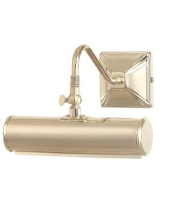Elstead PL1/10PB Picture Light 1lt Small Polished Brass