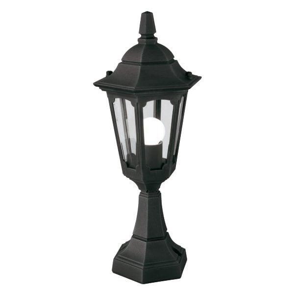 Elstead PRM4BLACK Parish Mini Pedestal Lantern Black