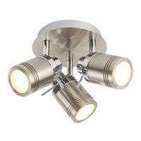 Searchlight 6603SS- Samson 3lt Spotlight, Satin Silver