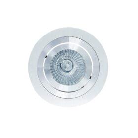 Mantra MC0005- Basico GU10 1lt Downlight, Aluminium