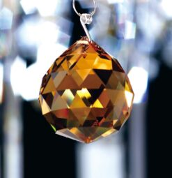 Diyas C10033- Crystal Spare, Amber