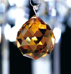 Diyas C10043- Crystal Spare, Amber