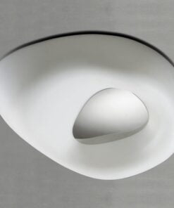 Mantra M1336- Huevo 4lt Flush, Polished Chrome