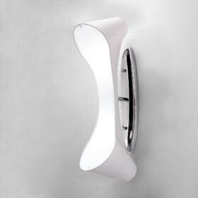 Mantra M1544- Ora 2lt Wall Light, Gloss White