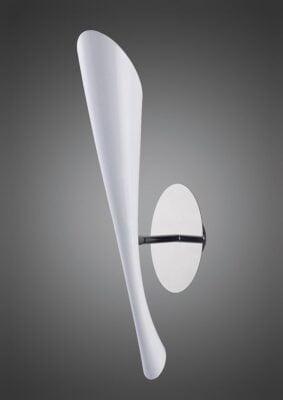 Mantra M0923/S- Pop 1lt Wall Light, Gloss White