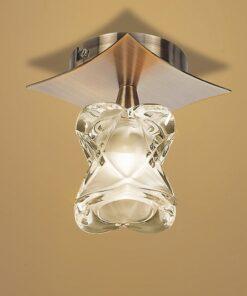 Mantra M0047AB- Rosa AB 1lt Flush, Antique Brass