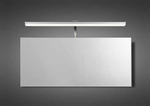 Mantra M5085- Sisley 1lt Wall Light, Silver