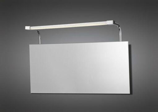 Mantra M5086- Sisley 1lt Wall Light, Silver