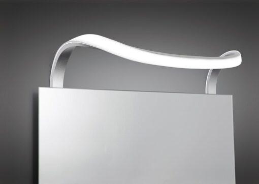 Mantra M5087- Sisley 1lt Wall Light, Silver