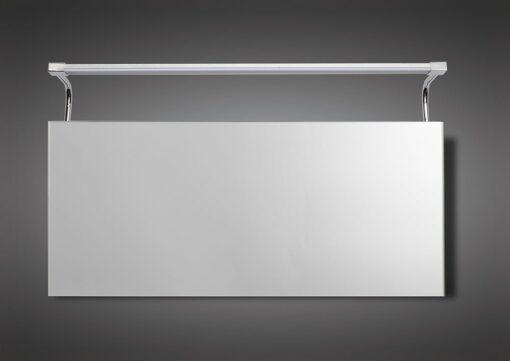 Mantra M5088- Sisley 1lt Wall Light, Silver