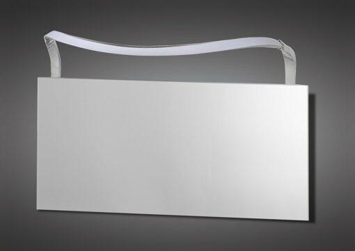 Mantra M5089- Sisley 1lt Wall Light, Silver