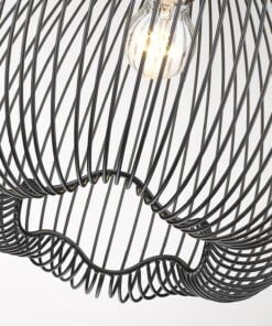 Seraphic Lighting R-1-DNEP2BM141LLOD- Dudedeston 1lt Single Pendant, Matt Black