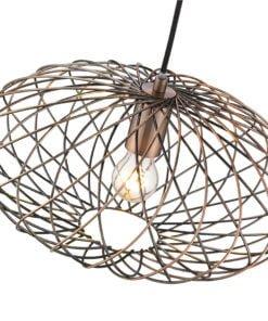 Seraphic Lighting R-1-DNEP2CA151ROOM- Moseley 1lt Single Pendant, Antique Copper
