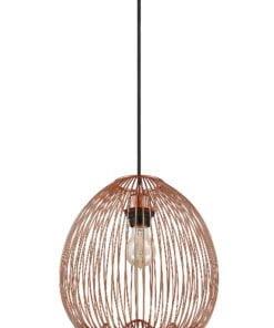 Seraphic Lighting R-1-DNEP2PC141LLOD- Dudedeston 1lt Single Pendant, Copper