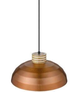 Seraphic Lighting R-1-DNEP2PC151ZAID- Druid 1lt Single Pendant, Copper