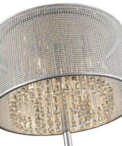Seraphic Lighting R-1-LOLF5IS841SYRC- Cotteridge 4lt Floor Lamps, Silver