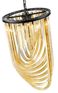 Seraphic Lighting R-1-TATS4GC941LEHC- California 3lt Single Pendant, Champagne Gold