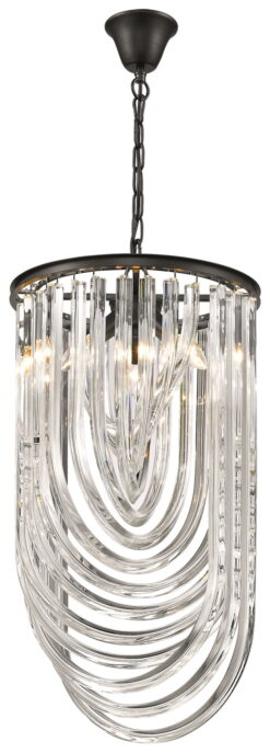 Seraphic Lighting R-1-TATS4SC941LEHC- California 3lt Single Pendant, Crystal