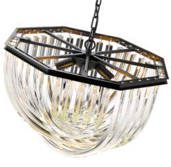 Seraphic Lighting R-1-TATS6SC461LEHC- California 5lt Single Pendant, Crystal