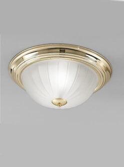 Refined Lighting RL-1-0476FC- Flush ceiling light 2lt, Brass
