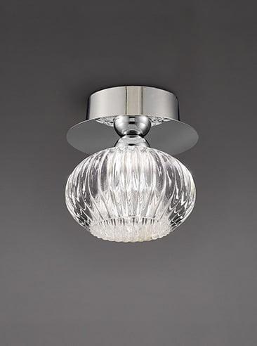 Refined Lighting RL-1-0586FC- Excite 10lt, Chrome