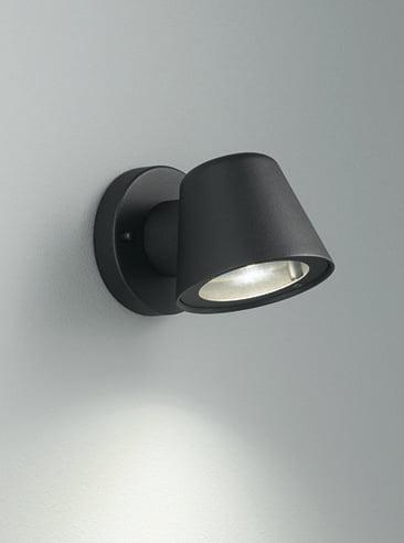 Refined Lighting RL-1-0277TXE- outer 1lt, Matt Black
